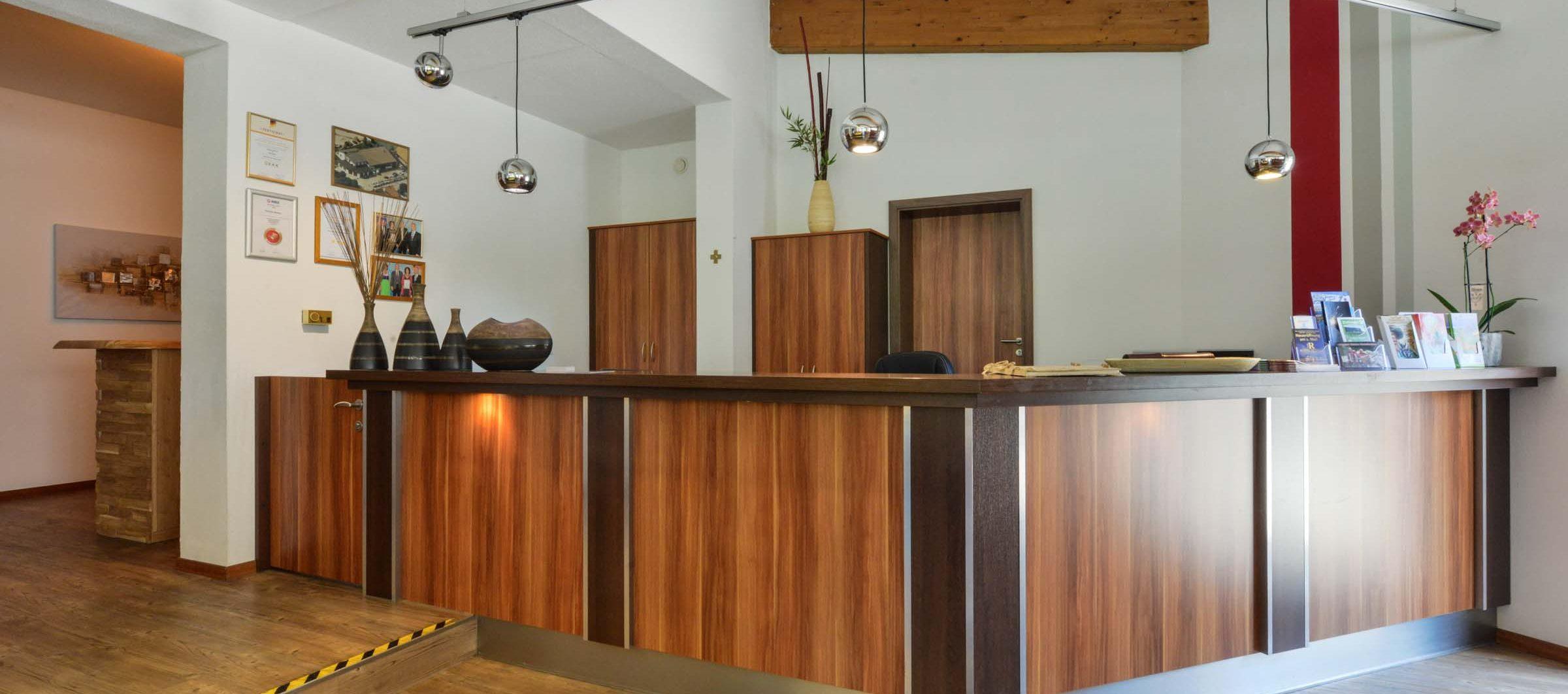 Hotel Renner Buchbach Rezeption