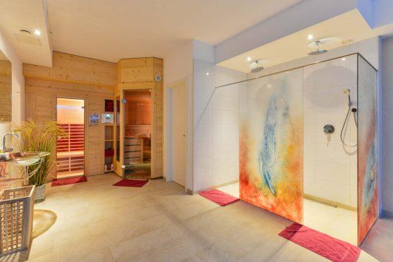 Hotel Renner Buchbach Wellnessbereich